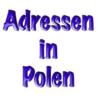 Adressen in Polen